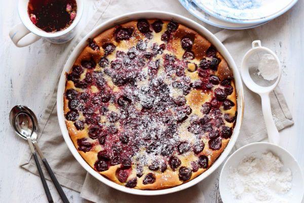 Пирог с ягодами фото