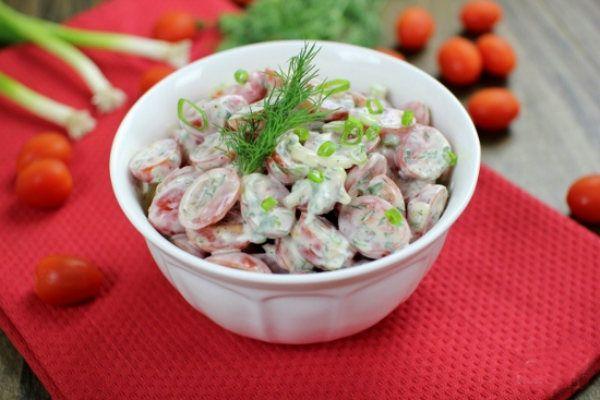 Салат из помидоров фото