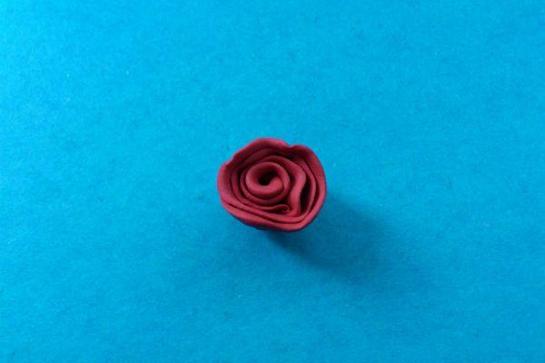 Спиралька-розочка фото