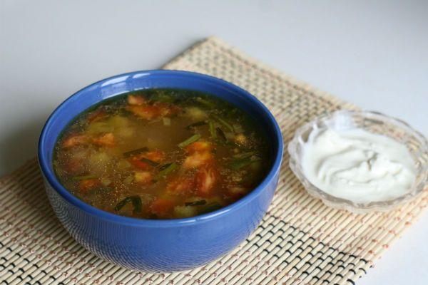 Суп крестьянский фото