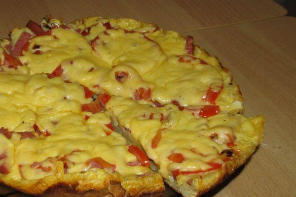 Сытная пицца фото