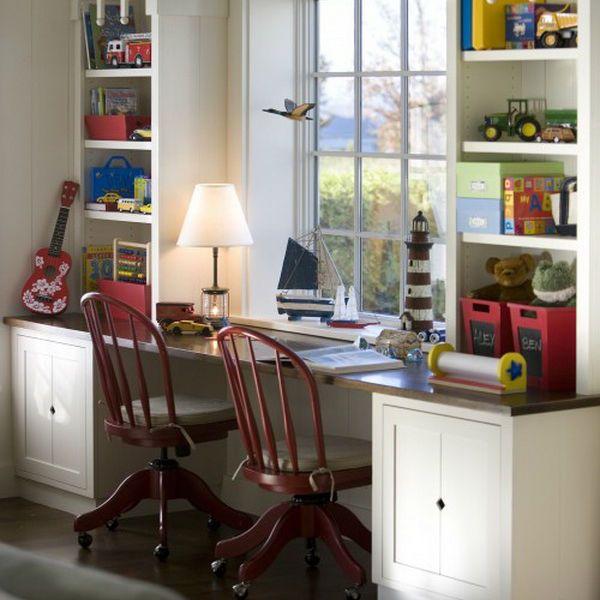 Встроенный стол фото
