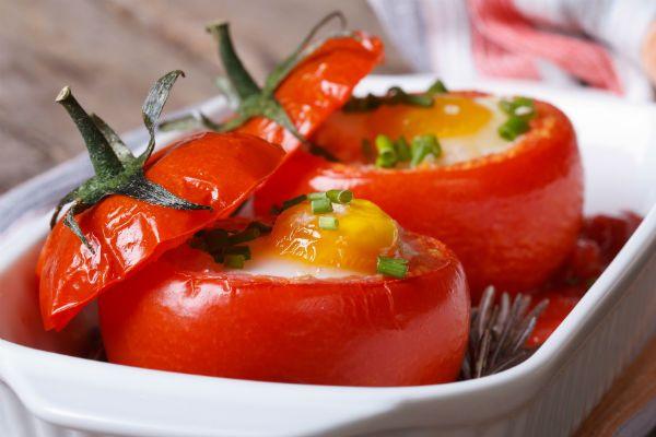 Запеченные в помидорах фото