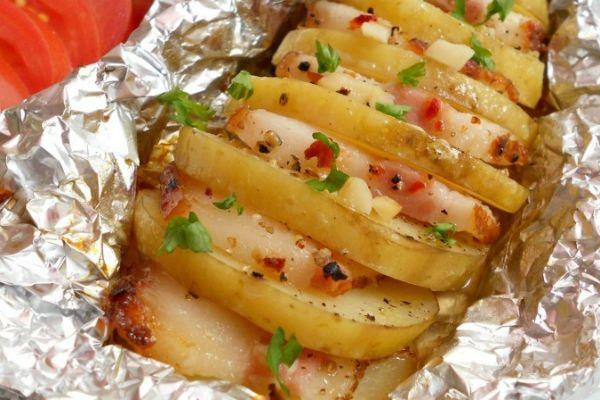 Запеченный картофель фото