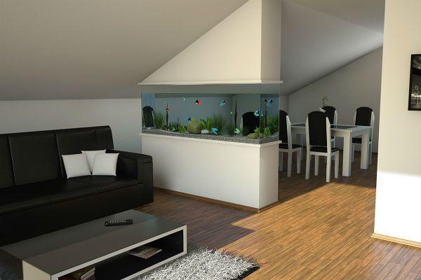 Перегородка аквариум фото
