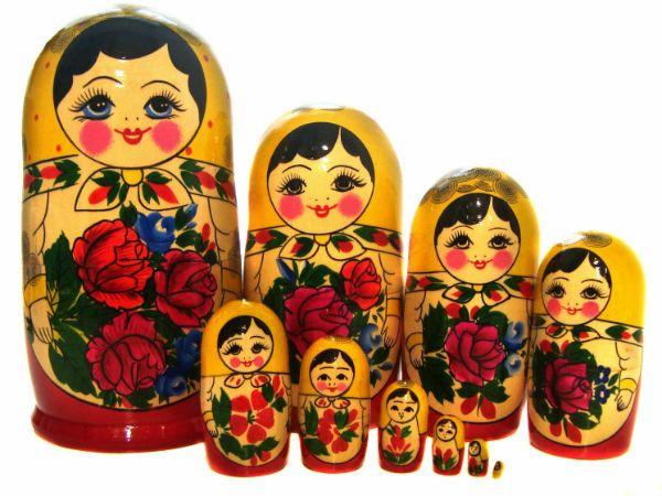 Семеновская роспись фото