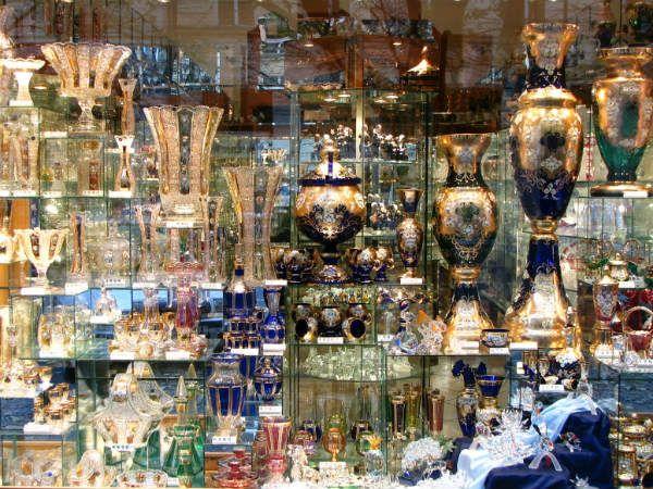 Богемское стекло и хрусталь фото