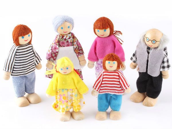 Деревянные куклы фото