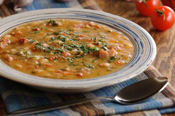 Фасолевый суп фото