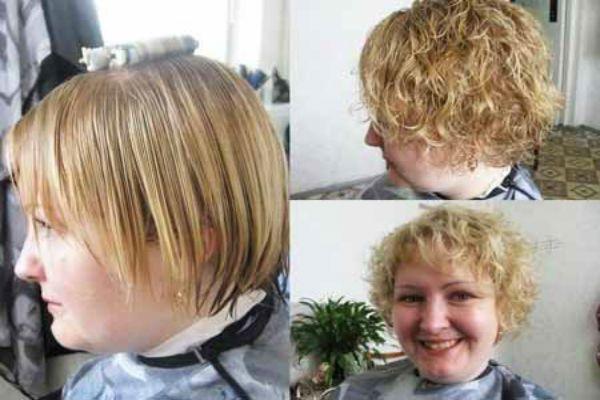 Карвинг коротких волос фото