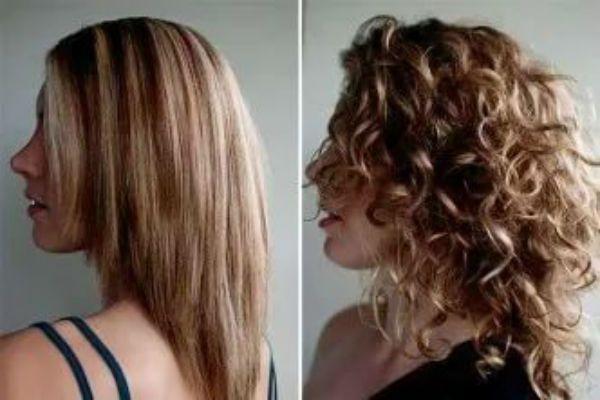Карвинг мелированных волос фото