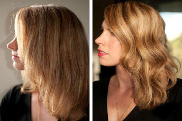 Карвинг светлых волос фото