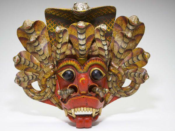 Ланкийские маски фото