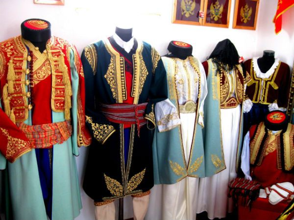 Национальная одежда Черногории фото