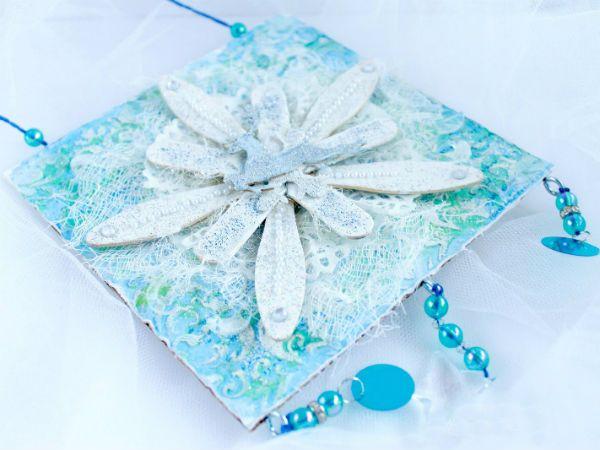 Новогодние украшения из палочек от мороженого 3 фото
