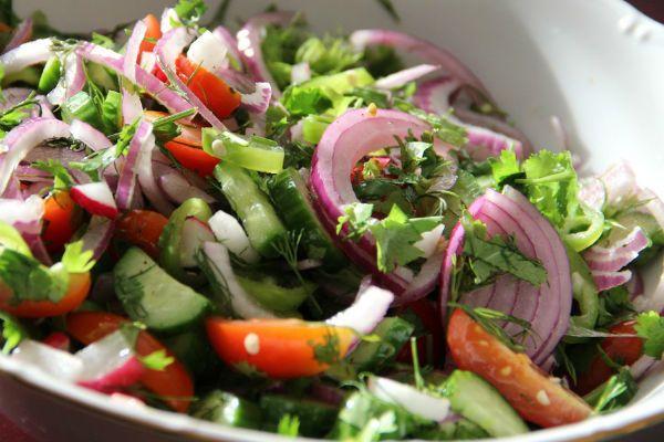 Пастуший салат фото