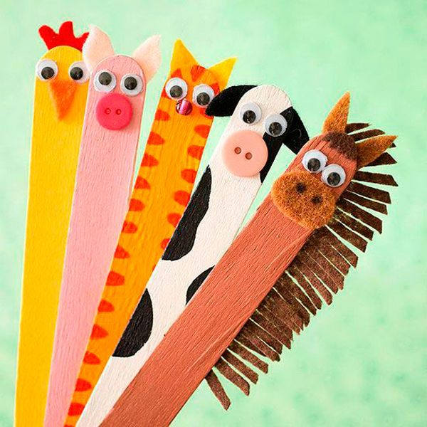Игрушки из палочек от мороженого 2 фото