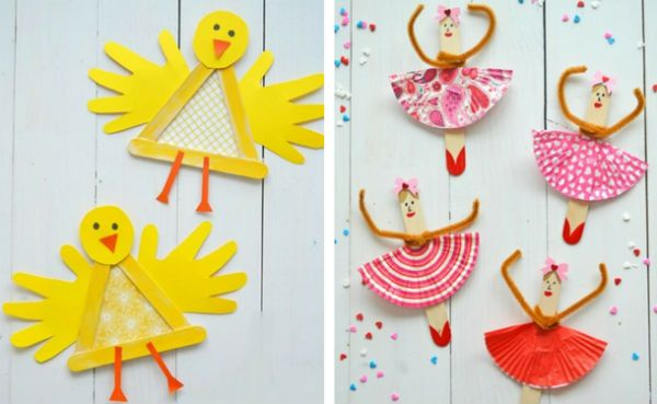 Игрушки из палочек от мороженого 3 фото