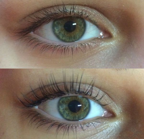 Результат под зеленые глаза фото