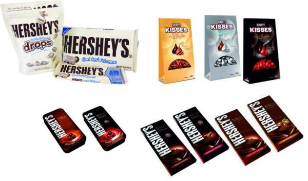 Шоколад Hershy фото