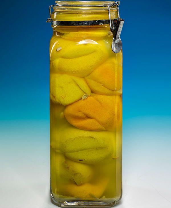 Соленые лимоны фото