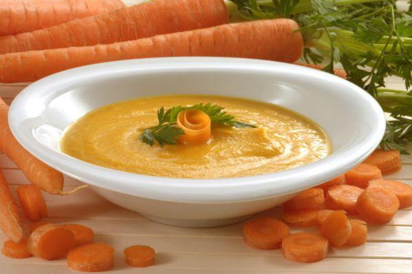 Суп-пюре с морковью фото