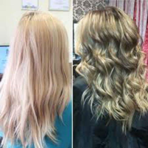 Светлые длинные волосы балаяж фото