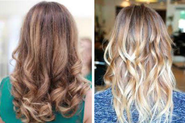 Светлые волосы балаяж фото