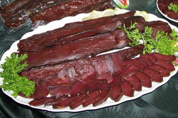 Мясные деликатесы из оленины фото