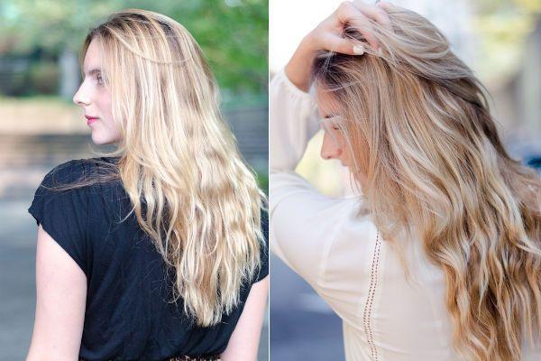 Тонирование для блондинок фото
