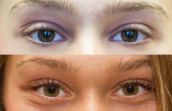 Красивые зелено-карие глаза фото