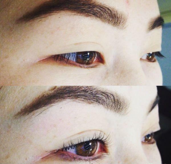 Глаза азиатского типа фото