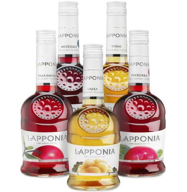 Ягодные ликеры «Lapponia» фото