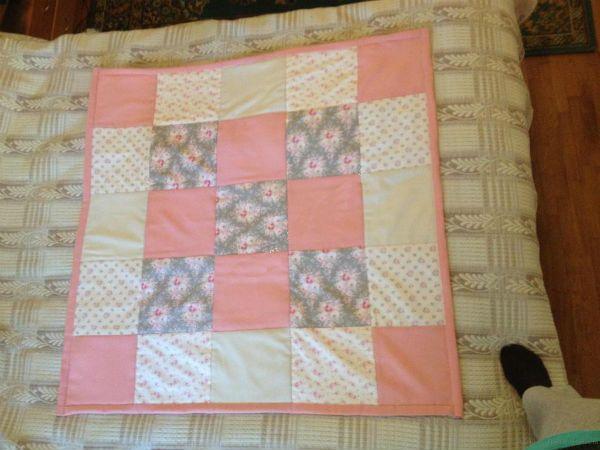 Готовое одеяло-конвент фото