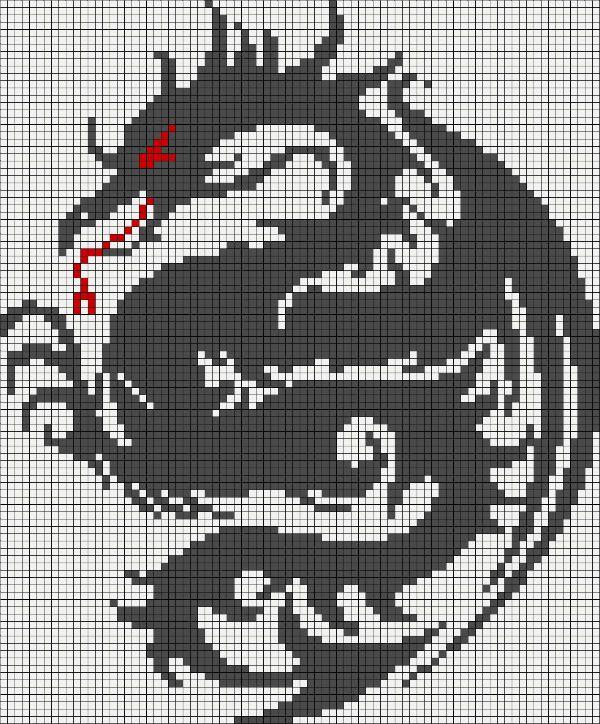 Черный дракон фото
