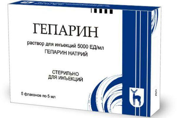 Гепарин фото