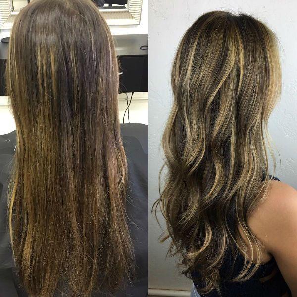Мелирование на волосах фото