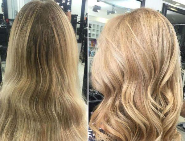 Нежный блонд фото