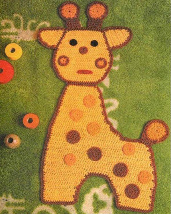 Коврик жираф фото