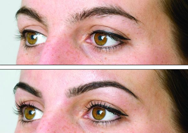 Примеры ламинирования бровей с фотографиями до и после процедуры фото