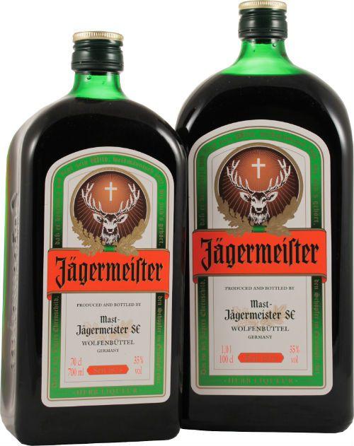 Ликер «Jägermeister» фото