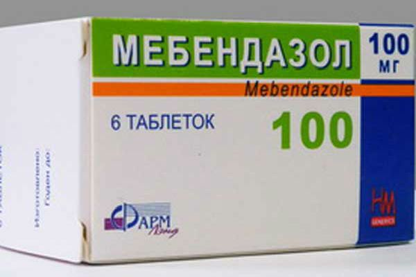 Мебендазол фото