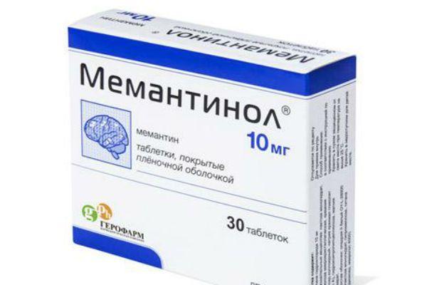 Мемантинол фото
