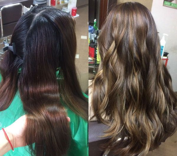 Восстановление цвета волос фото