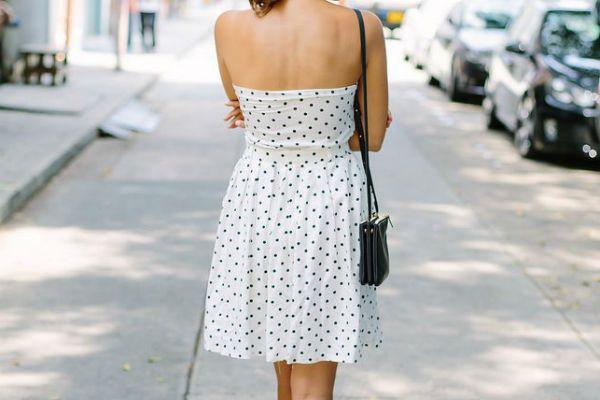 Платье из юбки 7 фото