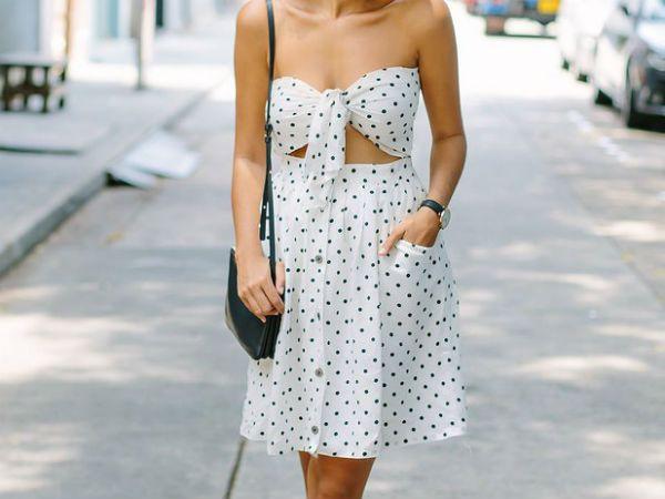 Платье из юбки фото
