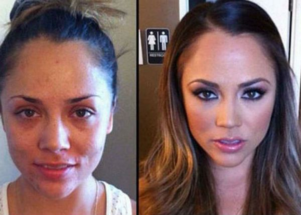 Как сделать лицо худым фото