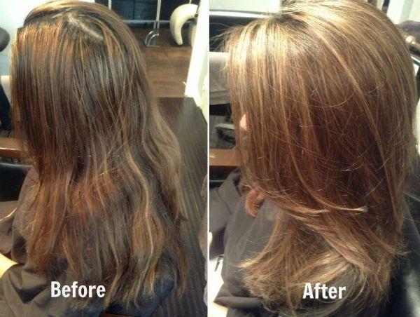 Эффект натуральных волос фото