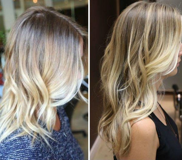Восстановление цвета волос с помощью шатуш-техники фото