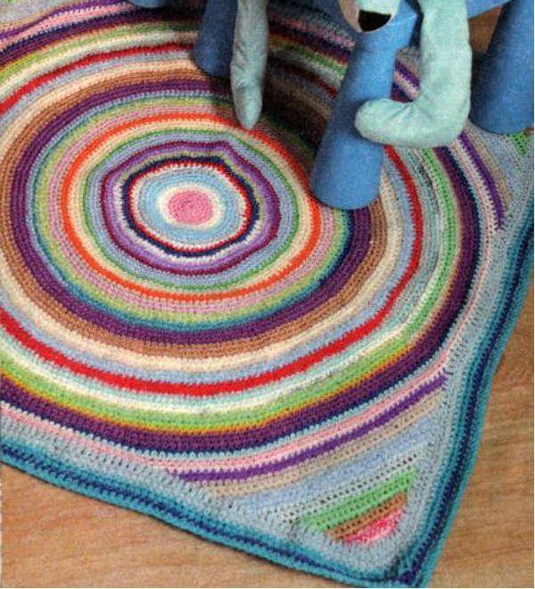Разноцветный коврик фото